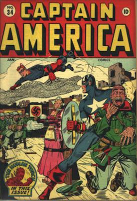 Captain America Comics #34. Click for current values.