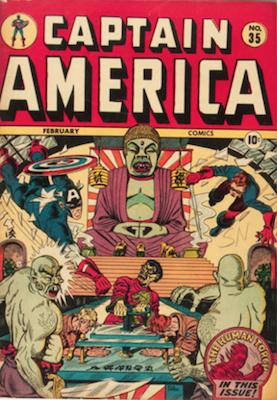 Captain America Comics #35. Click for current values.