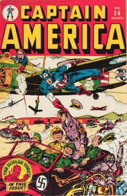 Captain America Comics #36. Click for current values.