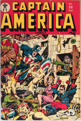 Captain America Comics #38. Click for current values.