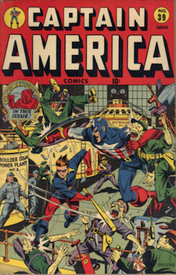 Captain America Comics #39. Click for current values.