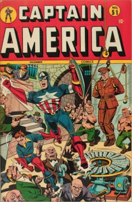 Captain America Comics #51. Click for current values.