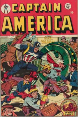 Captain America Comics #52. Click for current values.