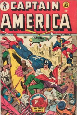 Captain America Comics #53. Click for current values.