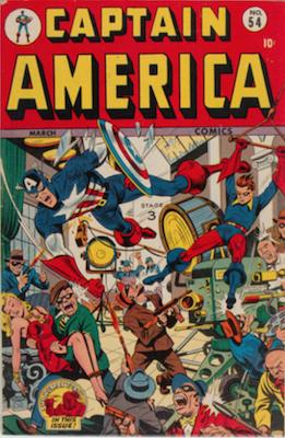 Captain America Comics #54. Click for current values.