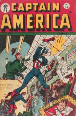 Captain America Comics #56. Click for current values.