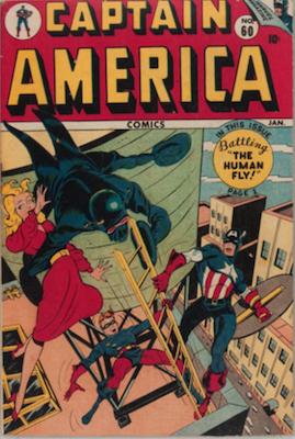 Captain America Comics #60. Click for current values.