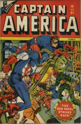 Captain America Comics #61. Click for current values.
