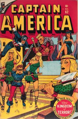 Captain America Comics #62. Click for current values.