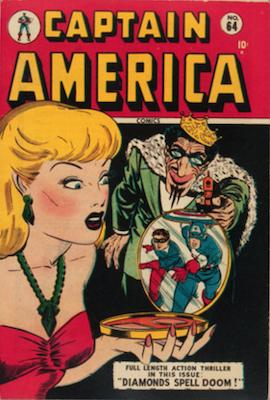 Captain America Comics #64. Click for current values.