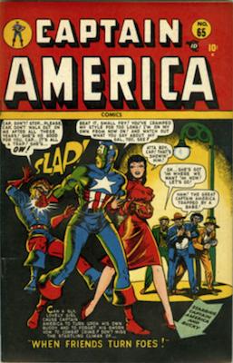 Captain America Comics #65. Click for current values.