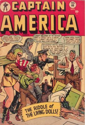 Captain America Comics #68. Click for current values.