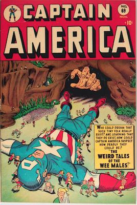 Captain America Comics #69. Click for current values.