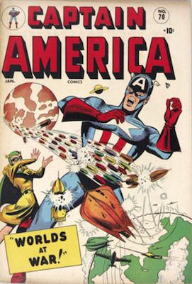 Captain America Comics #70. Click for current values.
