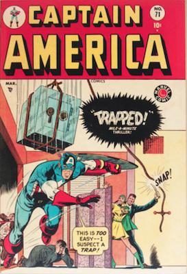 Captain America Comics #71. Click for current values.