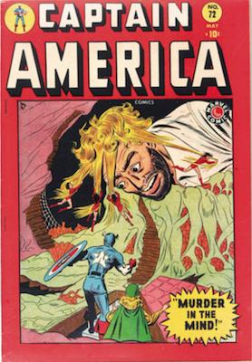 Captain America Comics #72. Click for current values.