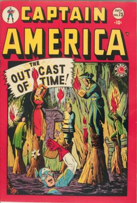 Captain America Comics #73. Click for current values.