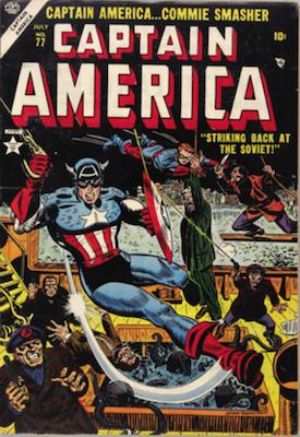 Captain America Comics #77. Click for current values.