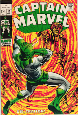 Captain Marvel #10. Click for current values.