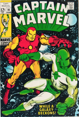 Captain Marvel #14. Click for current values.