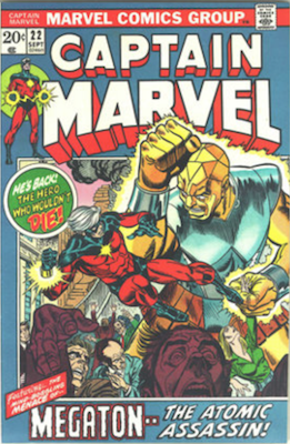 Captain Marvel #22. Click for current values.
