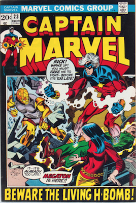 Captain Marvel #23. Click for current values.