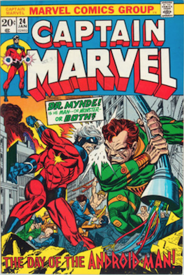 Captain Marvel #24. Click for current values.