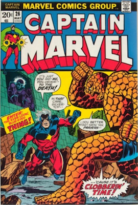 Captain Marvel #26. Click for current values.