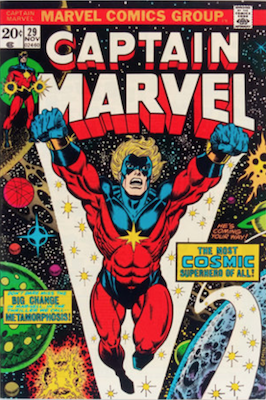 Captain Marvel #29. Click for current values.