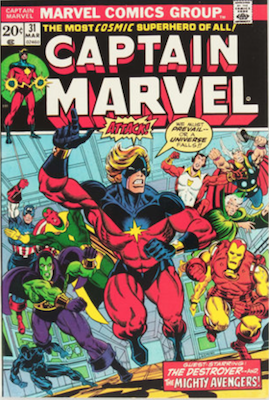 Captain Marvel #31. Click for current values.