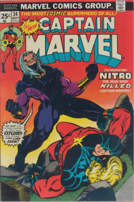 Captain Marvel #34. Click for current values.