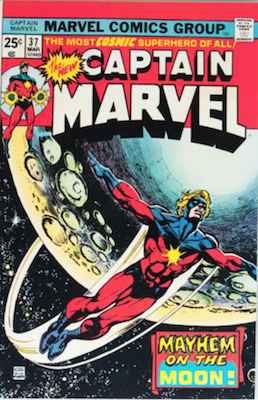 Captain Marvel #37. Click for current values.