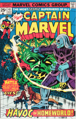Captain Marvel #41. Click for current values.