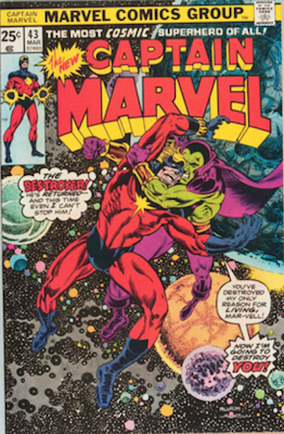 Captain Marvel #43. Click for current values.