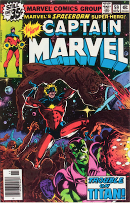 Captain Marvel #59. Click for current values.
