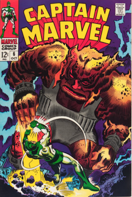 Captain Marvel #6. Click for current values.