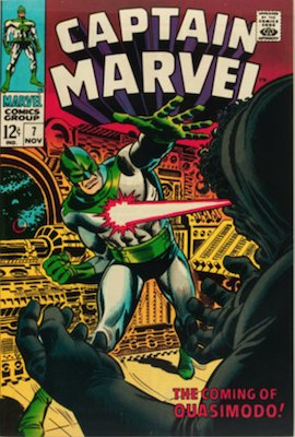 Captain Marvel #7. Click for current values.