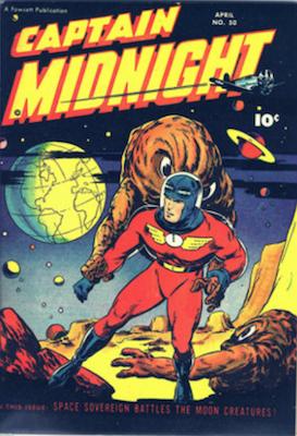 Captain Midnight Comic Book Values