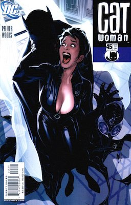 Catwoman #45: classic Adam Hughes cover. Click for values