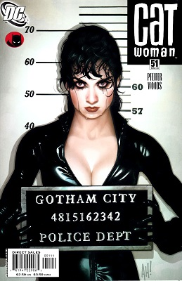 Catwoman #51 (Classic Adam Hughes cover art). Click for values