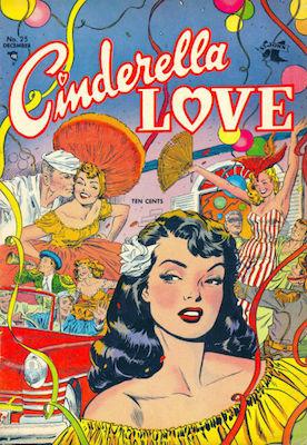Cinderella Love #25: classic Matt Baker comic book. Click for values