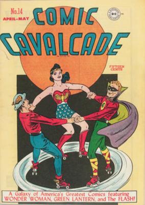 Comic Cavalcade #14. Click for current values.