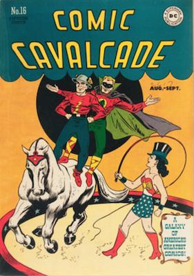 Comic Cavalcade #16. Click for current values.
