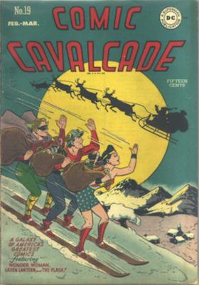 Comic Cavalcade #19. Click for current values.