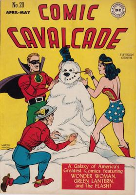 Comic Cavalcade #20. Click for current values.