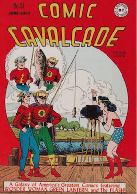 Comic Cavalcade #21. Click for current values.