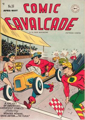 Comic Cavalcade #26. Click for current values.