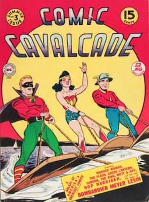 Comic Cavalcade #3. Click for current values.