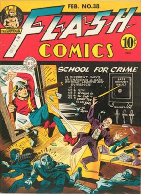 Comic Cavalcade #38. Click for current values.