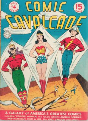 Comic Cavalcade #4. Click for current values.